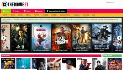 Situs download film Indonesia terbaik - The Movie 21
