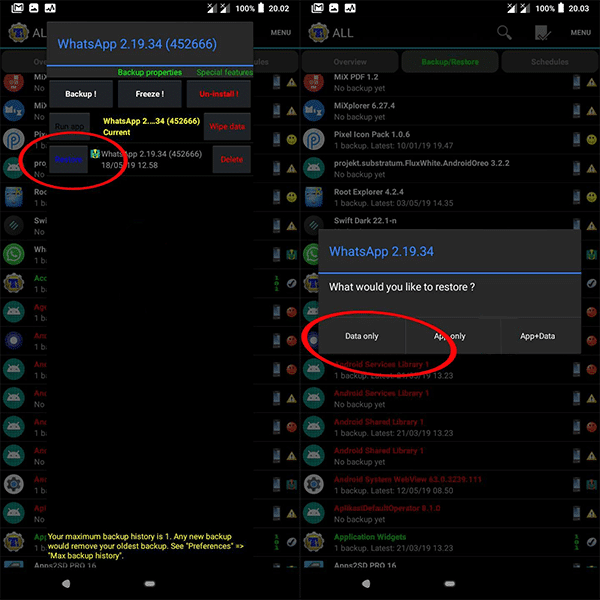 Cara mengatasi WhatsApp Mod yang diblokir sementara