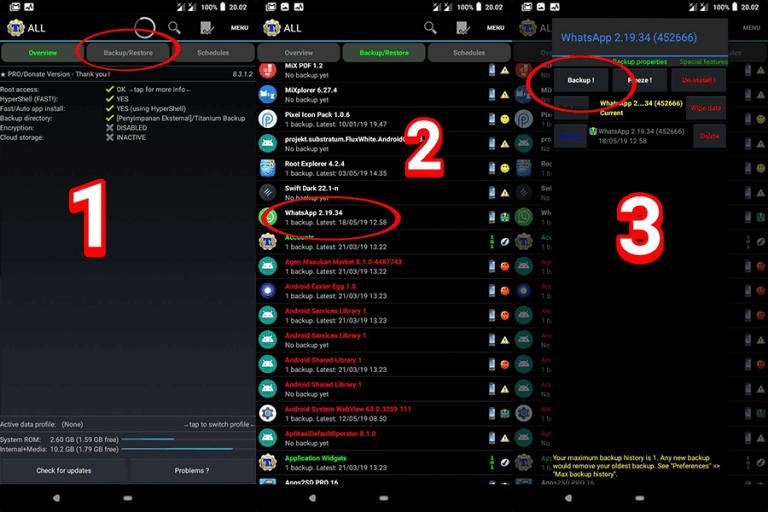 Cara mengatasi WhatsApp Mod yang diblokir