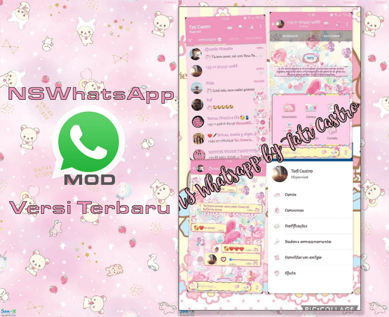 WhatsApp Mod-NSWhatsApp-Melody-Florarium