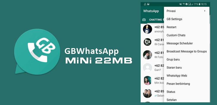 Whatsapp mod - GBWhatsApp-MiNi