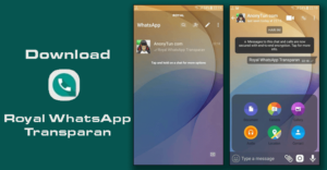 Whatsapp-mod - royal-whatsapp-transparan
