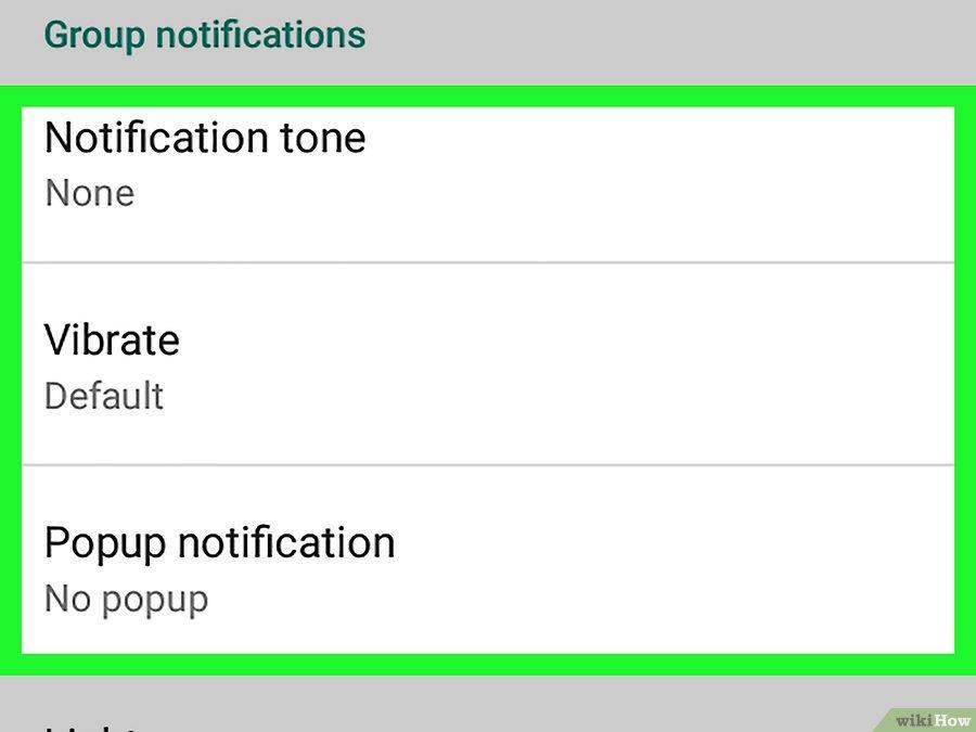 cara mematikan notifikasi grup whatsApp