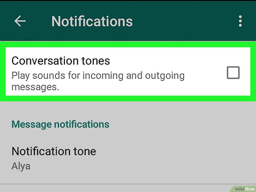cara menghilangkan pesan Whatsapp