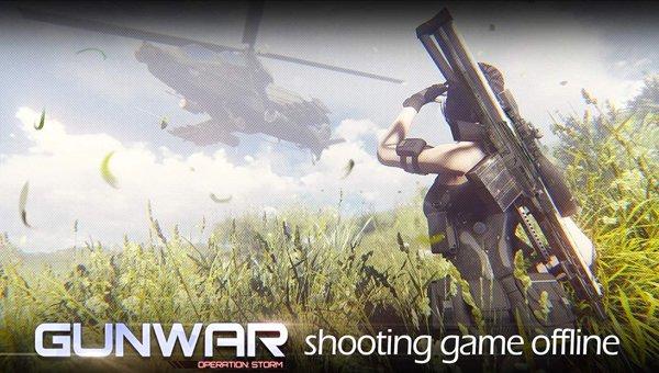 game shooting sniper offline android - Gun-War