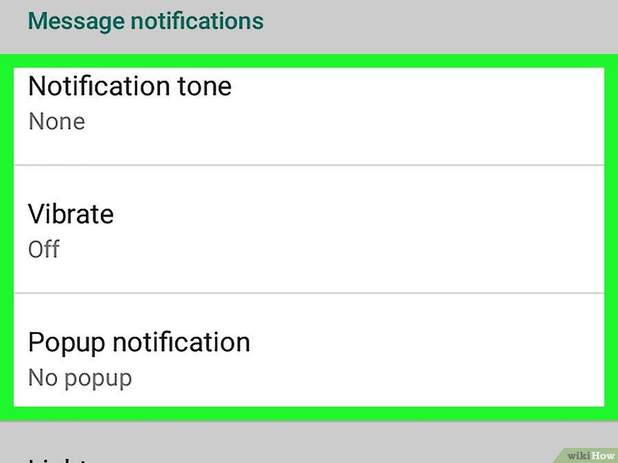 setting notifikasi android