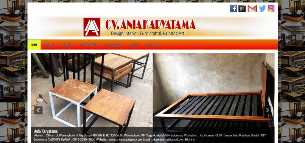 jasa pembuatan furniture custom di Jogja