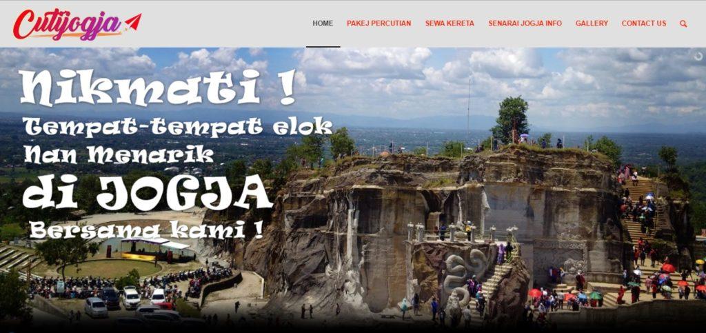 paket wisata dan rental mobil di Jogja
