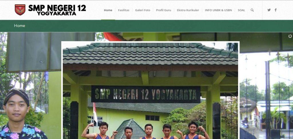 smpn 12 Jogja Yogyakarta