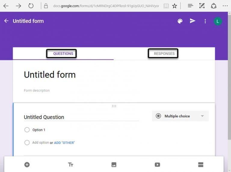 tutorial panduan cara membuat Google Forms