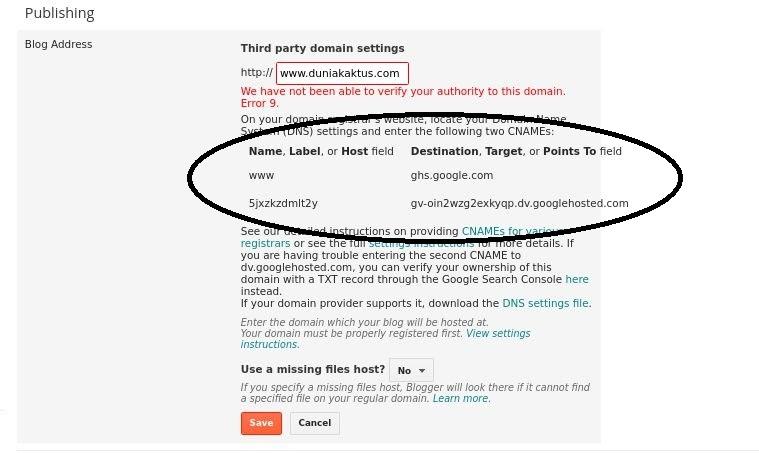 cara membuat blog gratis blogspot dengan domain sendiri