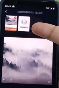 cara membuat gambar wallpaper 3D di Android 3