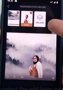 cara membuat gambar wallpaper 3D di Android 4