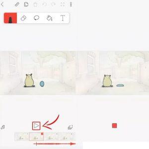 Cara Membuat video Film Animasi 2D di HP Android 2
