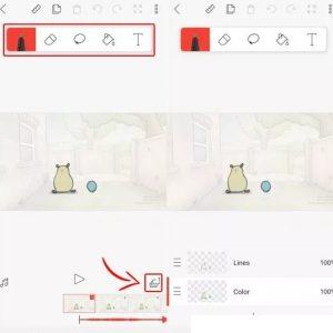 Cara Membuat video Film Animasi 2D di HP Android