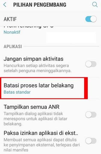 Cara Menambah RAM Samsung