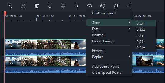 Cara edit video Youtube slowmo atau dipercepat 2