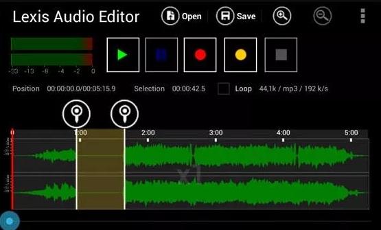 cara edit suara jadi jernih di android lexis audio editor