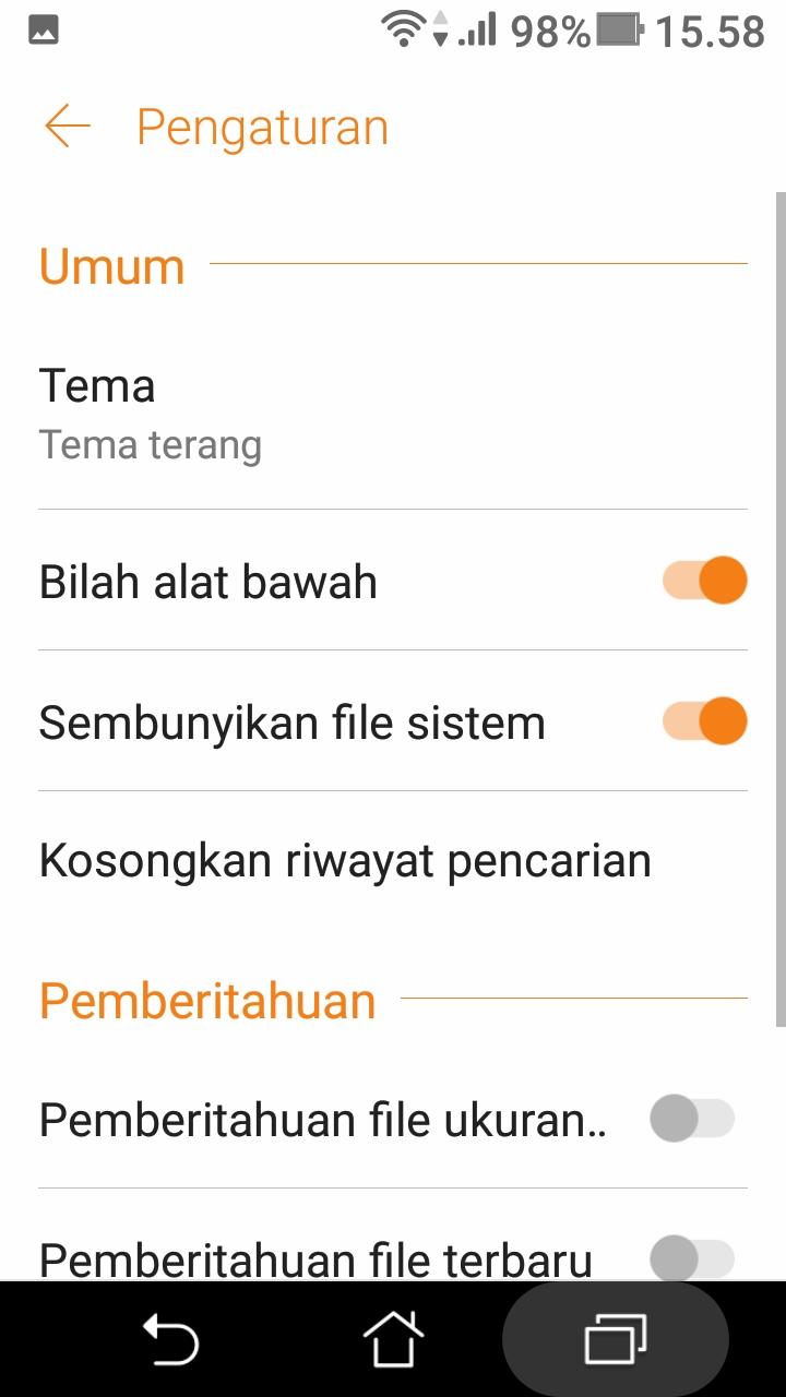 cara membersihkan file sampah tersembunyi di android (5)