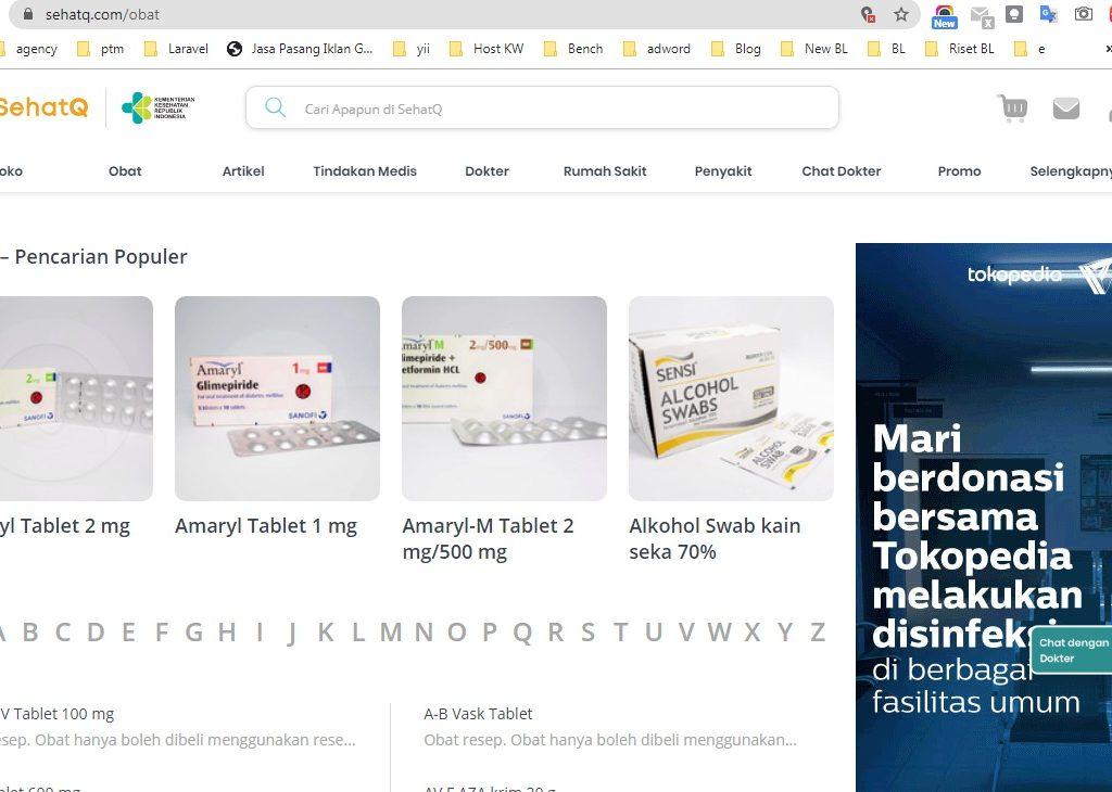 informasi obat di SehatQ